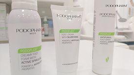 Зеленая линейка продуктов PODOPHARM