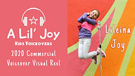 Lileina Joy: 2020 Commercial Voiceover Visual Reel