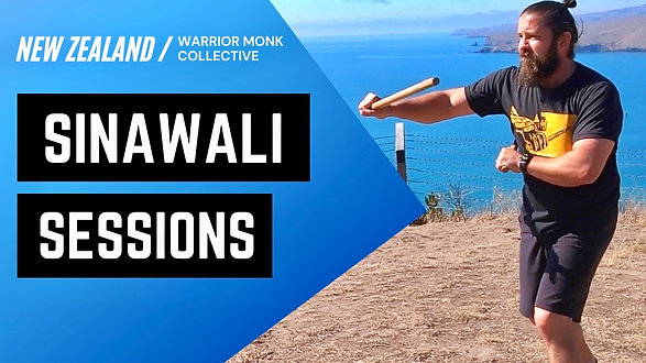 DOUBLE STICK Kali Tutorial with Warrior Monk Collective   Sinawali Sessions in New Zealand
