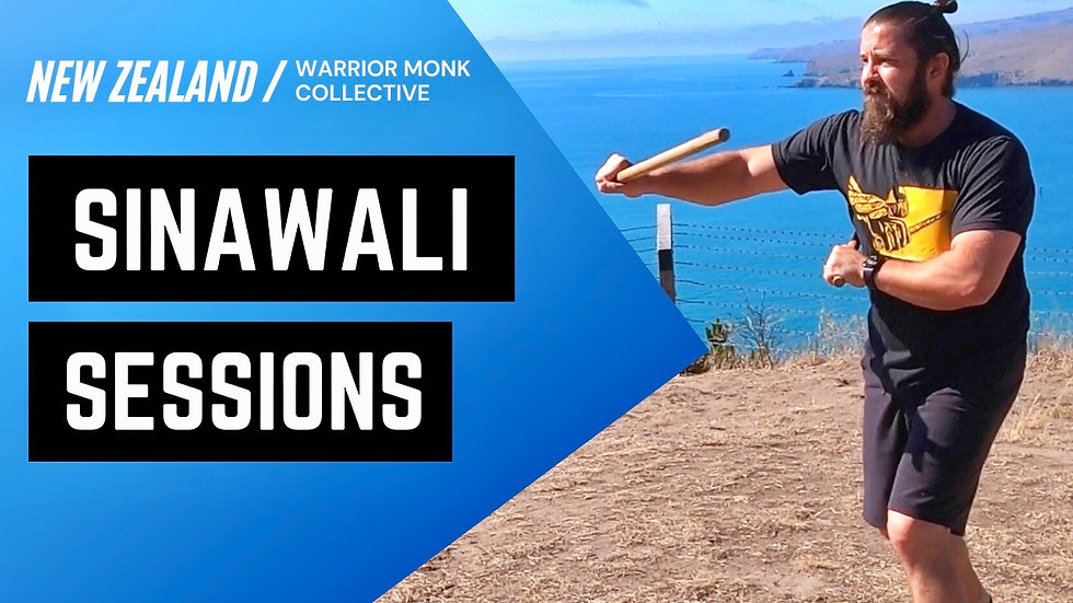 DOUBLE STICK Kali Tutorial with Warrior Monk Collective | Sinawali Sessions in New Zealand