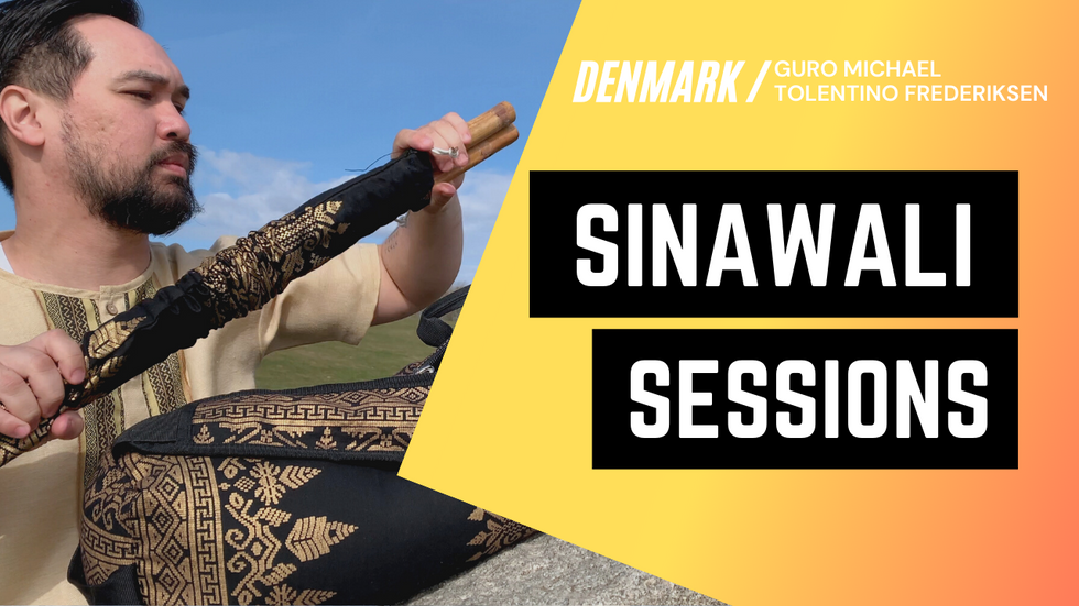 A Filipino Martial Arts Tutorial with Double Sticks | Sinawali Sessions in Denmark