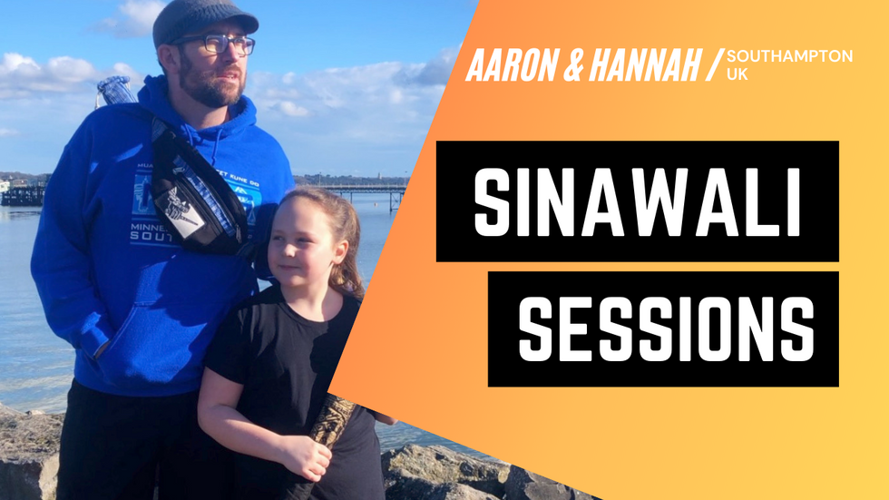 Sinawali Sessions in the United Kingdom | a Filipino Martial Arts Tutorial with Aaron & Hannah Davis