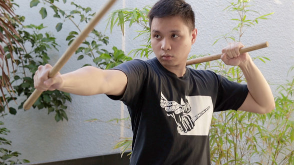 Sinawali Sessions in The Philippines | a Filipino Martial Arts Tutorial with Daniel Bernas