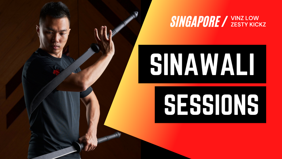 Thai Swords SPECIAL | Sinawali Sessions in Singapore