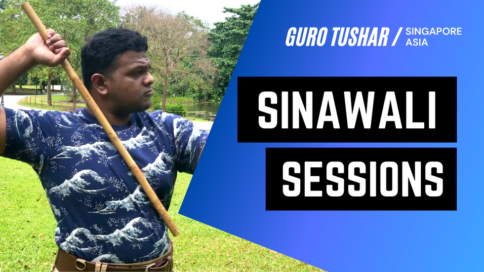 Intrinsic FMA Double Stick pattern | Sinawali Sessions in Singapore