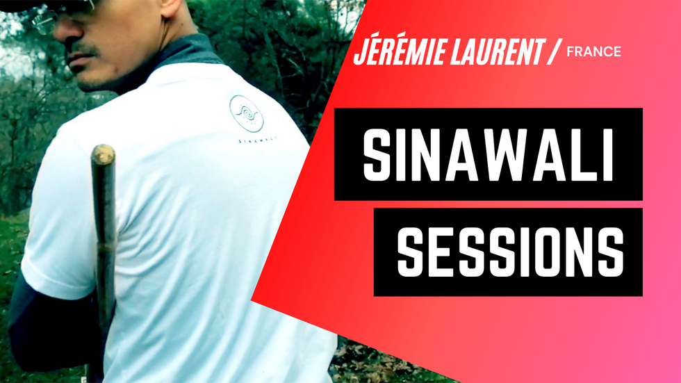 Sinawali Sessions in France   Kali Tutorial by Jérémie