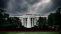 White House storm clouds