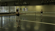 Plie #3 (one hand on the barre) - Barre