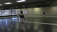 Pas Echappe - Exercise #1 - Part B (Centre)