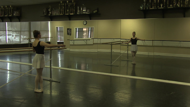 Tendu #1 (Barre) - Ballet 2