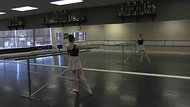 Jete #1 - Exercise #2 (one hand on barre)