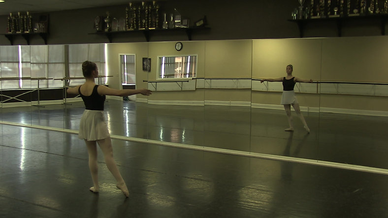 Tendu #1 (Centre) - Ballet 2