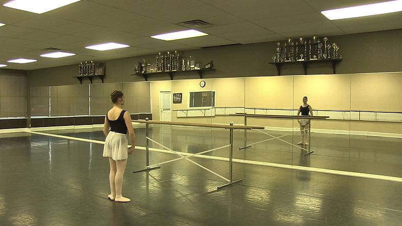 Ballet 1 - Tendu #1