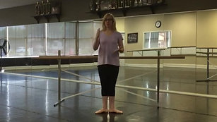 Ballet 1 - Notes for Teachers