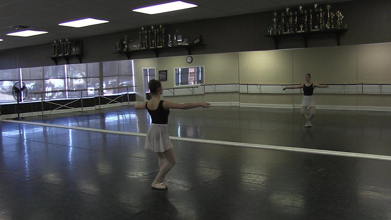 Tendu #2 (Centre) - Ballet 2