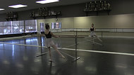 Jete #1 - Exercise #3 (facing barre)