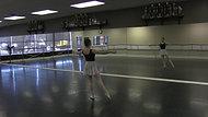 Tendu #2 - Exercise #3 (Centre)