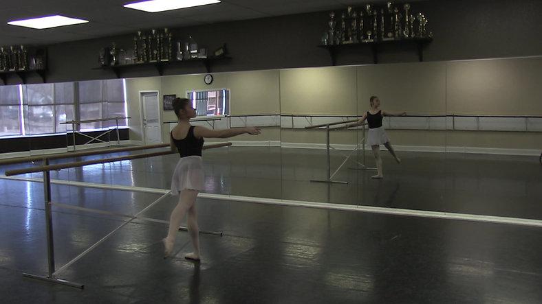 Jete #2 (Barre) - Ballet 2