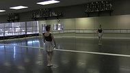 Pas Echappe - Exercise #2 - Part B (Centre)
