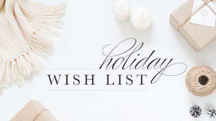 How to create a wish list