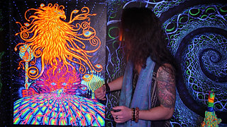 Psychedelic Art Videos by Alex Aliume