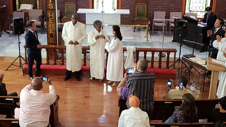 Pastors Leon & Sheila Pace