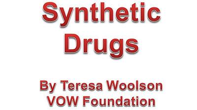 Synthetic Drug Pressentation