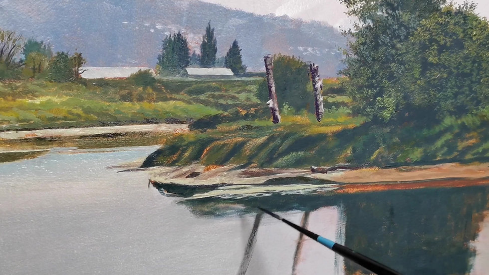 Painting Pitt Meadows By Mark Pytlos