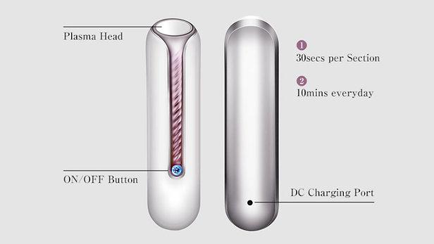 Ozone Fibroblasting Plasma Pen