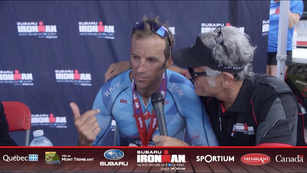 Ironman Mont Tremblant 2nd Place: Chris McDonald