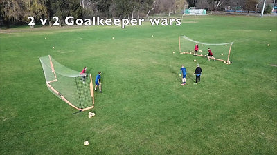 Academy Information - Senoir goalkeepers