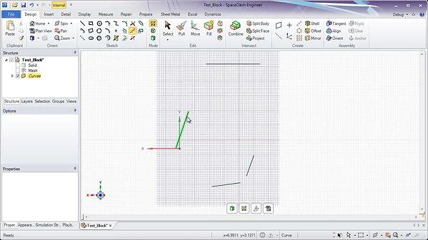 Ansys SpaceClaim - Reverse Engineering of STL's