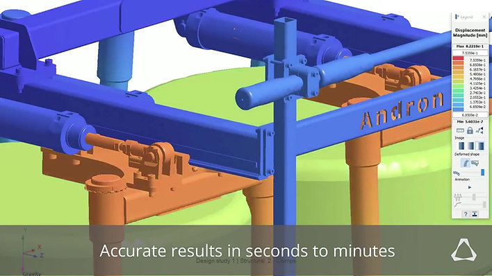 Evaluate the Largest Assemblies in Minutes with SimSolid