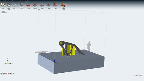 Inspire Print3D - Etape 2 - Thermo-mechanical analysis