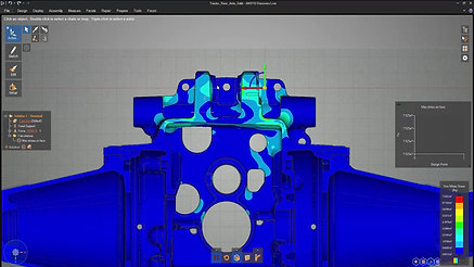 Discovery Live Rear Axle Structural Simulation