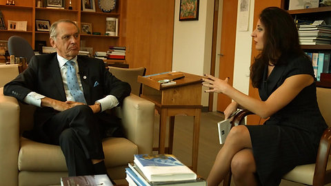 Jan Eliasson, UN Deputy Secretary-General interview with Shamina de Gonzaga