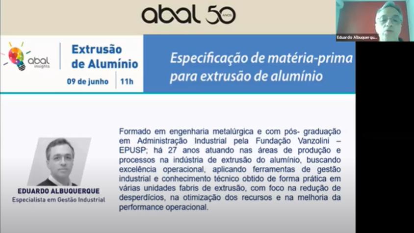 ABAL Insights | Extrusão de Alumínio: Especificação de matéria-prima para extrusão de alumínio
