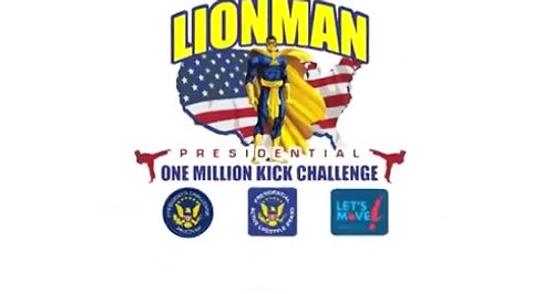 The Legend of LIONMAN One Million Kick Challenge 2011