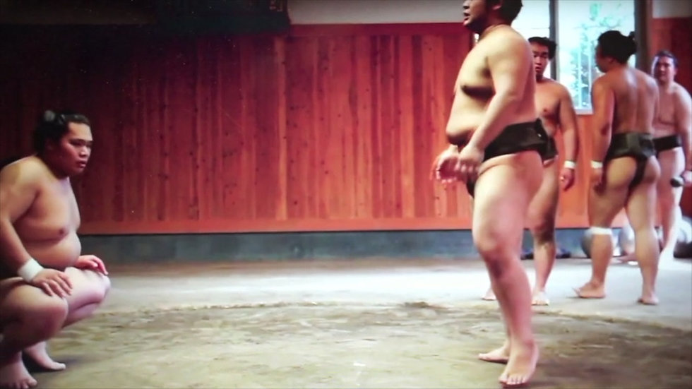 Visit To The Sumo Stables / 相撲部屋 見学