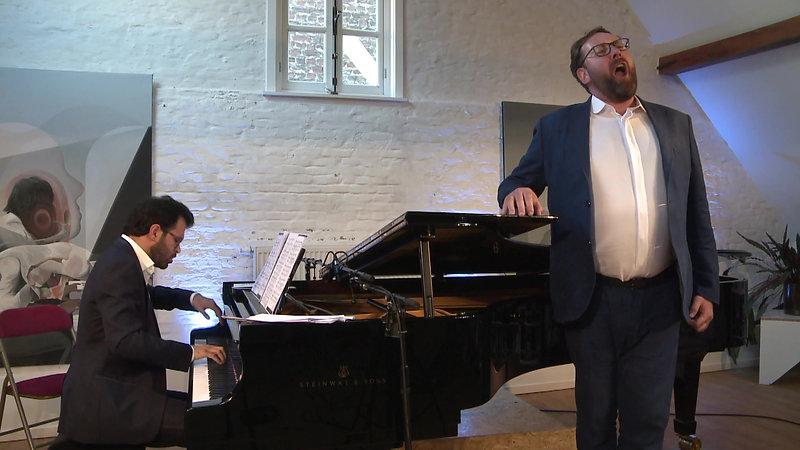 Schubert Lieder - Matthew Rose, Elise Caluwaerts & Aaron Wajnberg