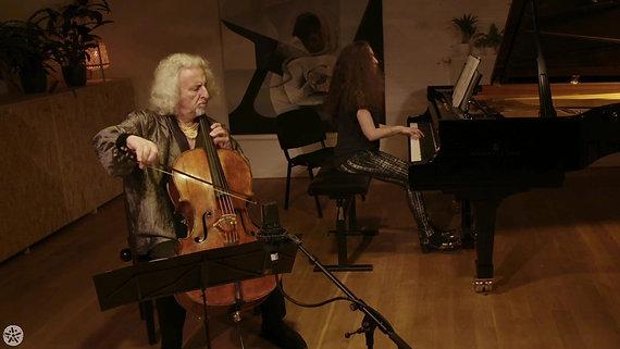 Mischa & Lily Maisky - live at Jardin Musical