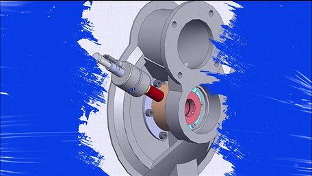 Tomato powder air lock (rotary valve)