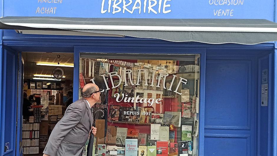 Jacques de Valambris au Rêve de l'Escalier, librairie Vintage ROUEN