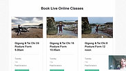 How to book Live Online Classes