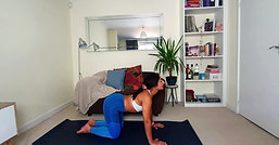 CHILL OUT: Lower Back Stretch (back pain remedy)
