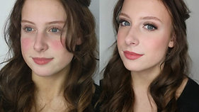 Soft Glam make-up look