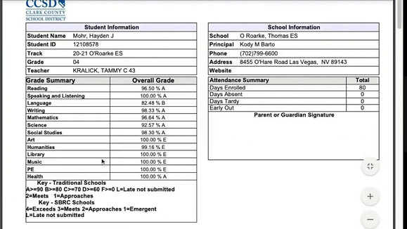 Progress Reports & Report Cards