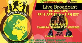 Club Nation Fri 9 Apr with Thamara Song Bird St Bernard, Lednek & Father J (Final)