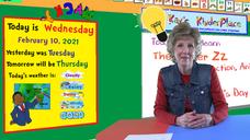 Wednesday Letter Zz