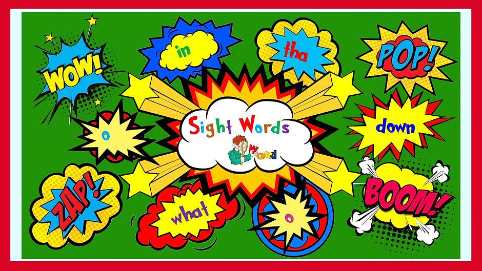 Sight word - so, little